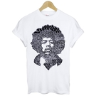 Jimi Hendrix-graph短袖T恤 2色 吉米吉他Woodstock音樂祭t-shirt特價$390