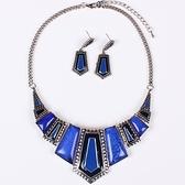 項鍊鍍銀+耳環-歐美時尚高貴精選女毛衣鍊3色73nt16【時尚巴黎】