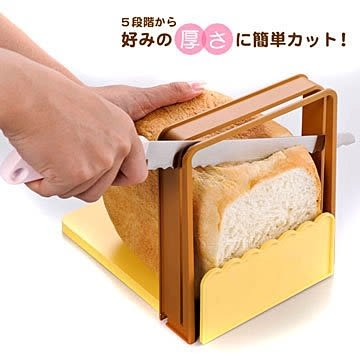 【小福部屋】日本製 貝印 KAI 吐司切片器+麵包刀組 切割器 製麵包機的好幫手【新品上架】