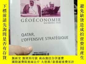 二手書博民逛書店GEOECONOMIE罕見QATAR L OFFENSIVE S