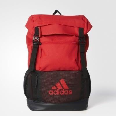 ◆adidas CLIMACOOL TRAINING NGA 黑紅 背包 後背包 書包 水壺袋 大容量 AY5085