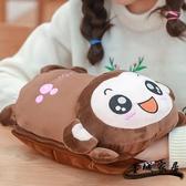 熱水袋充電 熱水袋充電防爆煖寶寶暖水袋注水可拆洗卡通毛絨可愛敷肚子暖手寶