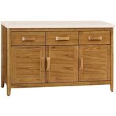 櫥櫃餐櫃FB 336 2 愛莉絲柚木4 2 尺碗櫃下座【大眾家居舘】