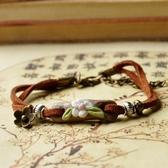 陶瓷手環-手工捏製生日情人節禮物女串珠手鍊73gw155【時尚巴黎】