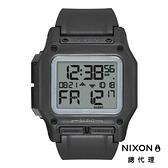 NIXON THE REGULUS 美國特種部隊認證 黑/灰雙時區 五年續航 堅固耐操 美式風格
