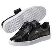 Puma Patent 黑色 女款 板鞋 滑板鞋 運動鞋 休閒鞋 漆皮鞋面 復古 緞帶鞋 36307301