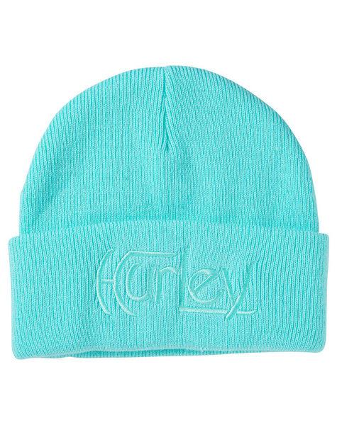 Hurley Original 毛帽 毛線帽- 水藍