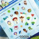 迪士尼指甲貼 玩具Q版巴斯光年 玩具總動員 翠絲 胡迪 巴斯 美甲貼指甲貼紙 COCOS PF033