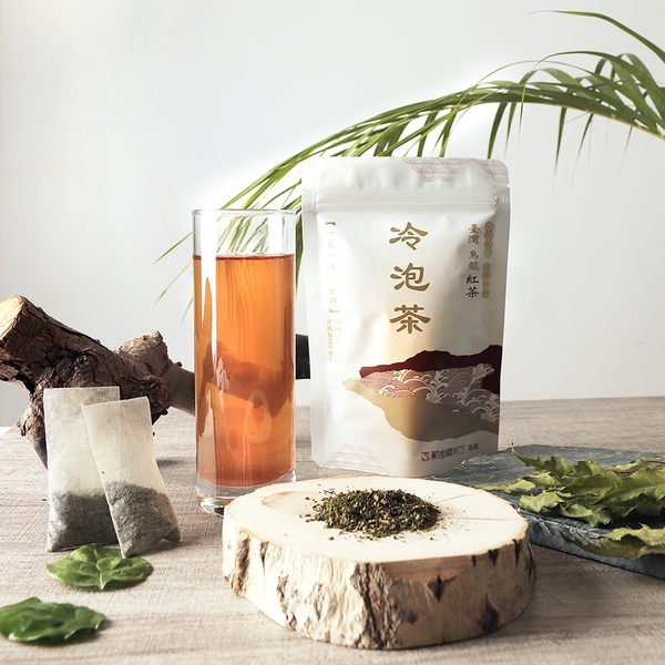 【現折100】冷泡茶 烏龍紅茶10入 (玉米纖維茶包/台灣茶) 【新寶順】