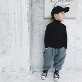 打底衫童裝男童高領毛衣新款洋氣內搭針織打底衫中小童上衣保暖童趣屋促銷好物