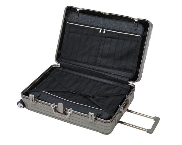 ~雪黛屋~Excelen 26吋行李箱防盜鋁框外掛勾金屬防撞角固定海關密鎖360度雙飛機輪旋轉耐摔#1569