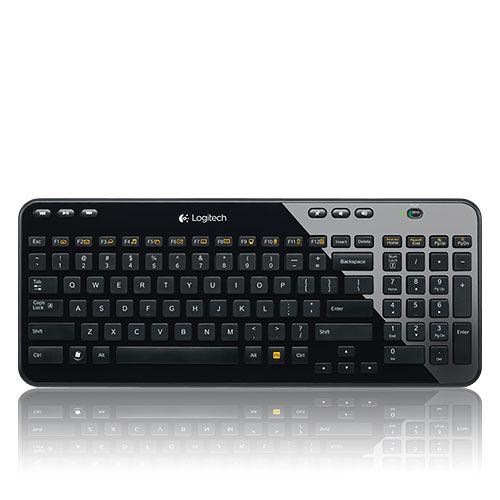 Logitech 羅技 K360R 無線 鍵盤