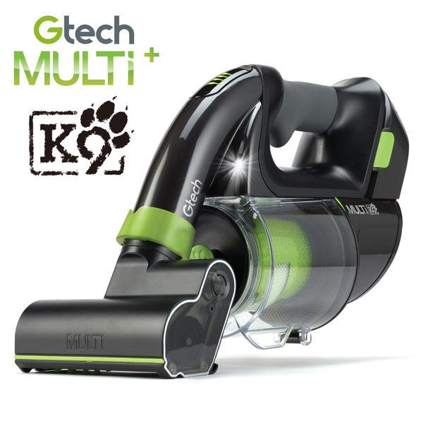 【限時送濾心】英國 Gtech 小綠 Multi Plus K9 寵物版無線除蟎吸塵器
