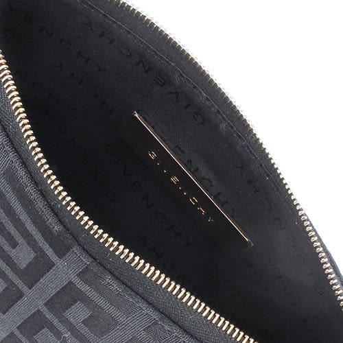 GIVENCHY紀梵希經典logo緹花紋手提肩背包(黑色)910729