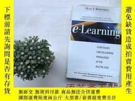 二手書博民逛書店【32開精裝本】英文原版書E-Learning:Strategi