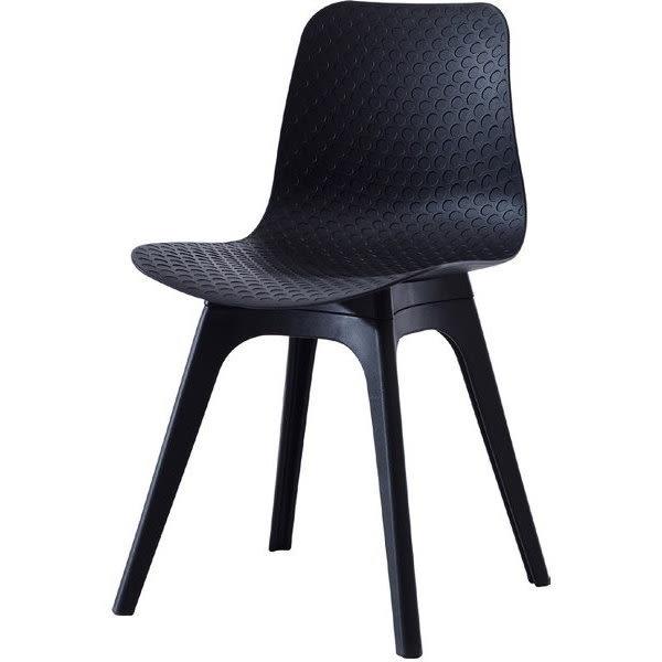 餐椅 CV-764-6 7033PP黑色餐椅【大眾家居舘】