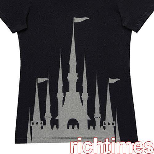 城堡圓領T恤(黑)~M   UQ3A2209