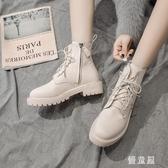 短靴英倫風馬丁靴 靴子女2019秋冬季新款韓版百搭冬季女 BT16824『優童屋』