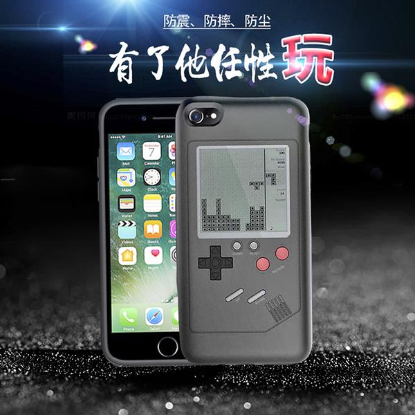 iPhone 6 6S 7 8 PLUS 手機殼 復古 趣味 Game Boy 遊戲機 保護套 懷舊 磨砂 遊戲 手機套