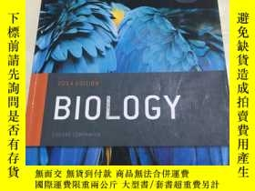 二手書博民逛書店2014罕見EDITION BIOLOGY COURSE COM