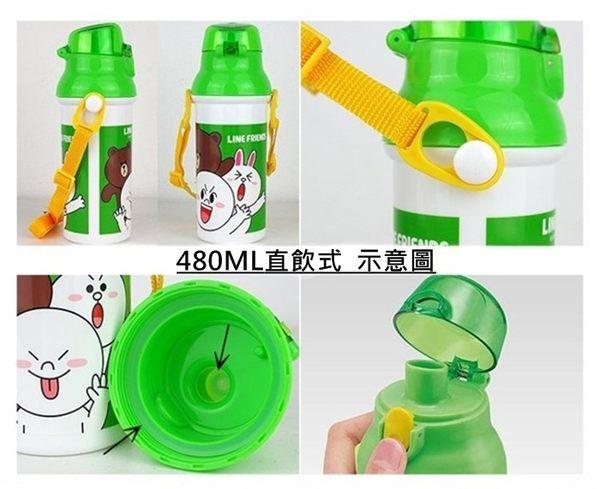 TOY STORE 玩具總動員 直飲式水壺 480ml 奶爸商城 日本製 357824