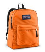 JANSPORT 校園後背包 基本款-螢光橘-43501