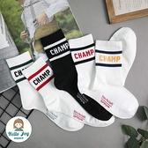 【正韓直送】韓國襪子 CHAMP雙條加大男性中筒襪 男襪 長襪 棉襪 生日禮物 型男必備 哈囉喬伊 M16