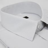 【金‧安德森】白底黑細紋涼感短袖襯衫