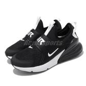 Nike 休閒鞋 Max 270 Extreme 黑 白 女鞋 大童鞋 運動鞋 【PUMP306】 CI1108-001