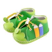 【愛的世界】彩色鉛筆寶寶鞋(高筒)/學步鞋-台灣製- ★鞋款推薦