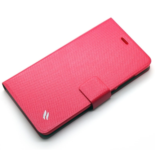 Redberry 紅米NOTE 甜漾簡約 立架式側掀皮套