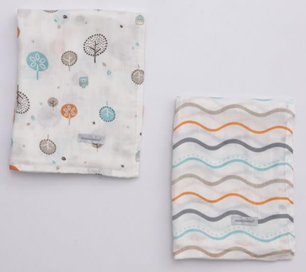 奇哥 竹纖維紗布大包巾120x120(2入)