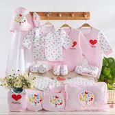 聖誕交換禮物 彌月禮盒組 嬰兒衣服棉質新生兒禮盒套裝xw