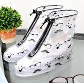 防雨鞋套 雨鞋套防滑加厚耐磨成人鞋套防水雨天防雨鞋套兒童男女雨鞋套【快速出貨八折優惠】