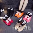雨鞋  短筒韓國水鞋防滑雨鞋 東京戀歌