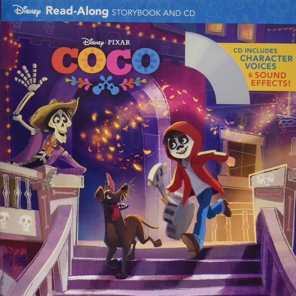 【麥克書店】COCO READ ALONG STORYBOOK /英文繪本附CD‧聽迪士尼說故事 (可可夜總會)
