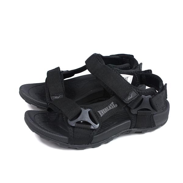 EVERLAST 涼鞋 戶外 男鞋 黑色 4021230120 no096