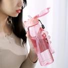 吸管 杯 水杯 便攜大容量 3色可選容量600ml