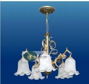設計師美術精品館歐式田園燈現代簡約吊燈/臥室燈/餐吊燈/客廳照明燈飾燈具