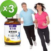 OZMD歐力婕 葡萄糖胺 加強型配方(100顆瓶)三瓶組