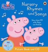 Peppa Pig: Nursery Rhymes And Songs 佩佩豬最愛的童謠 平裝書附CD