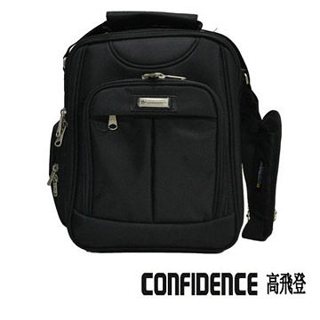 公事包 直式 Confidence 高飛登 1191 專業黑(福利品)