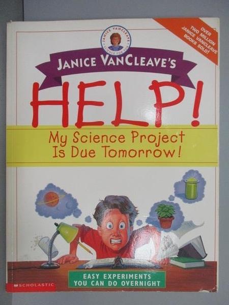 【書寶二手書T7/語言學習_PBJ】Janice Vancleave s HELP!