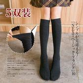 堆堆襪女秋冬款韓版學院風日繫瘦腿過膝長筒襪子女高筒襪韓國【米拉公主】