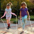 跳繩幼兒園可調節初學寶寶小孩跳神棉繩子 萬客居