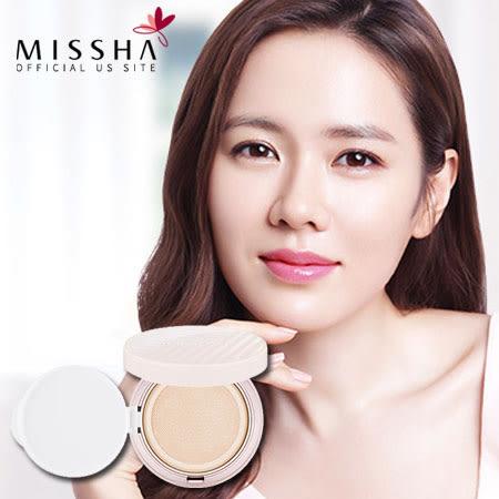 韓國 MISSHA 水光肌網狀氣墊粉餅(米色自然) 14g 氣墊粉餅 底妝 粉底 舒芙蕾