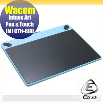 【Ezstick】Wacom Intuos Art CTH-690 專用 二代透氣機身保護貼 (機身背貼) DIY 包膜