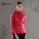 【JORDON 橋登 女 超輕量羽絨夾克《紅酒》】439/輕量化羽絨衣/可收納羽絨衣/保暖羽絨外套