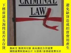 二手書博民逛書店UNDER罕見STANDING CRIMINAL LAW 論刑事