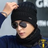 帽子冬季毛線帽加厚針織套頭加絨保暖帽防寒風青年棉帽